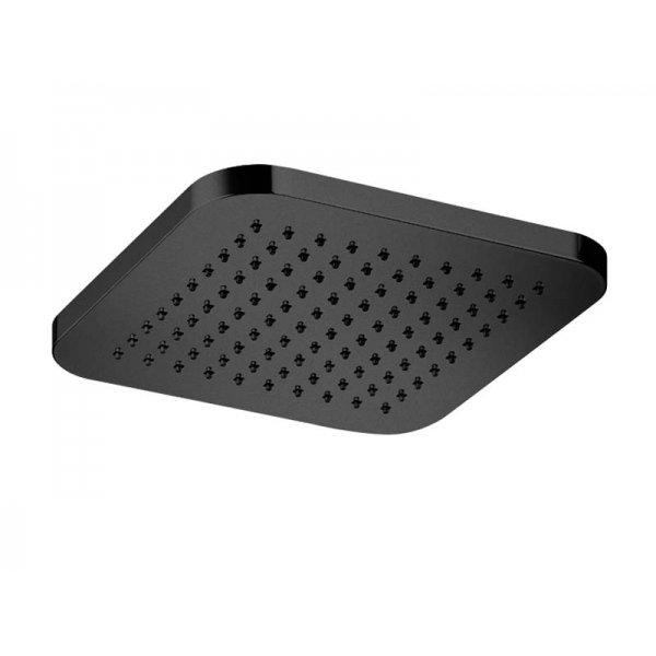 Sprcha INFINITY BLACK 30x30 cm