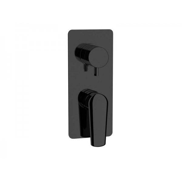 Baterie VANITY BLACK podomítková páková, 2 funkce