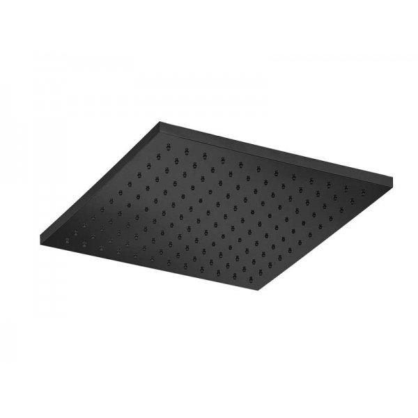 Sprcha čtverec BLACK 25x25 cm ECOAIR