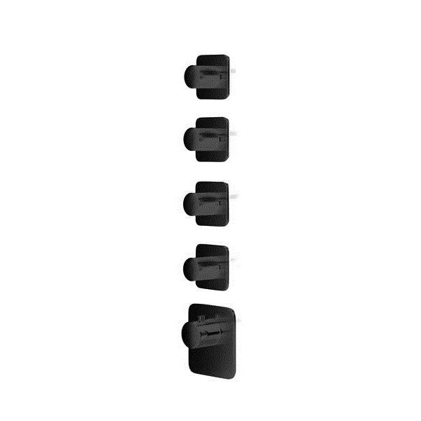 Baterie BLACK kryt ROUND+ KUKY S, 4 funkce