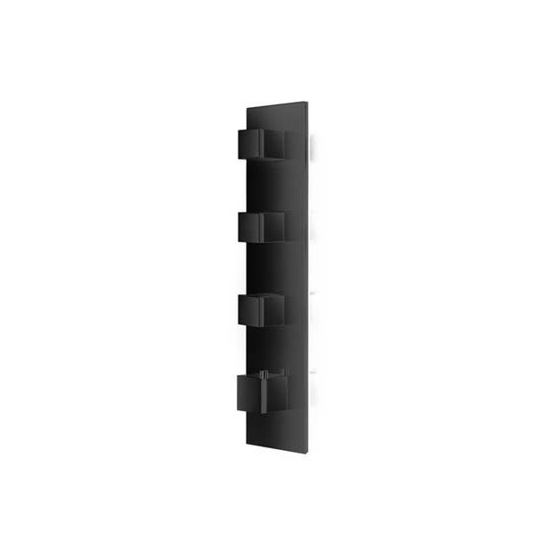Baterie BLACK kryt SQUARE D, 3 funkce