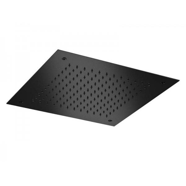 Zápustná sprcha BLACK 38x38 cm