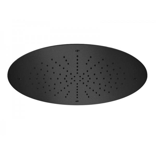 Zápustná sprcha BLACK Ø38 cm s chromoterapií