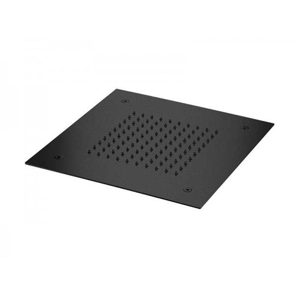 Zápustná sprcha BLACK 30x30 cm