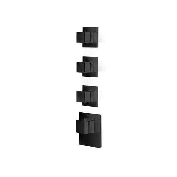 Baterie BLACK kryt SQUARE S, 3 funkce