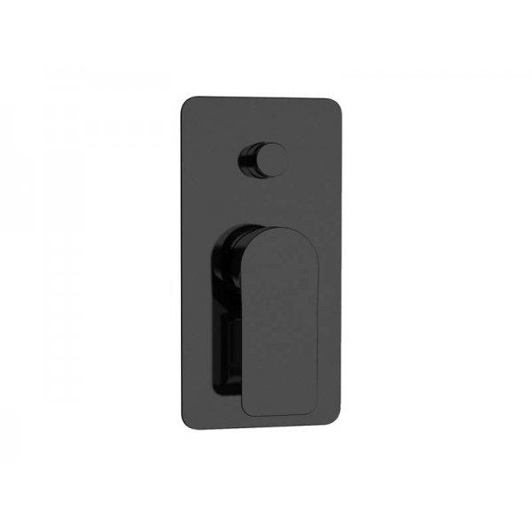 Baterie INFINITY BLACK páková s přepínačem, 2 funkce