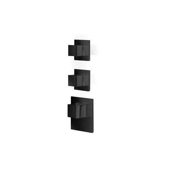 Baterie BLACK kryt SQUARE S, 2 funkce