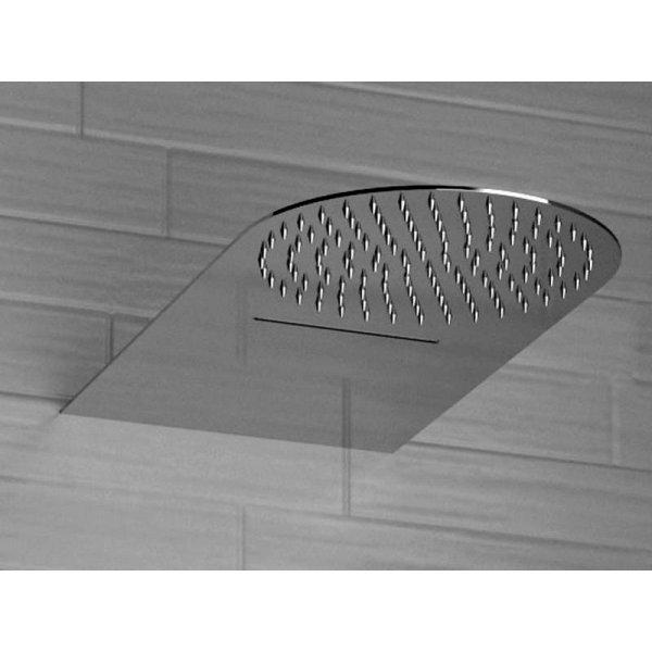 Sprcha ROUND FLAT s vodopádem 50x25 cm