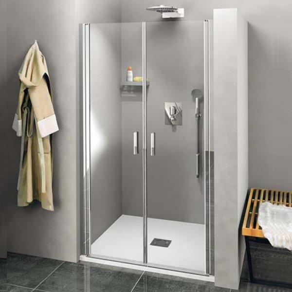 Otočné dveře do niky dvoukřídlé ZOOM LINE 120 cm