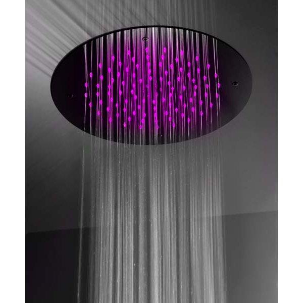 Zápustná sprcha s chromoterapií Ø38 cm