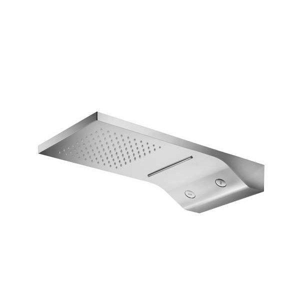 Sprcha 59x27 cm s vodopádem a rotačními tryskami