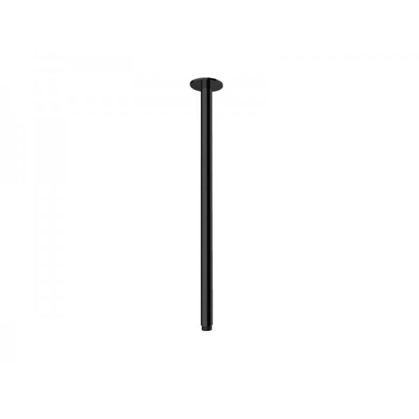 Sprchové ramínko BLACK svislé 50 cm