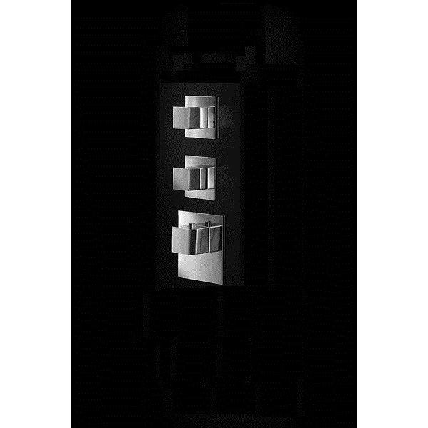 Baterie kryt SQUARE S, 2 funkce