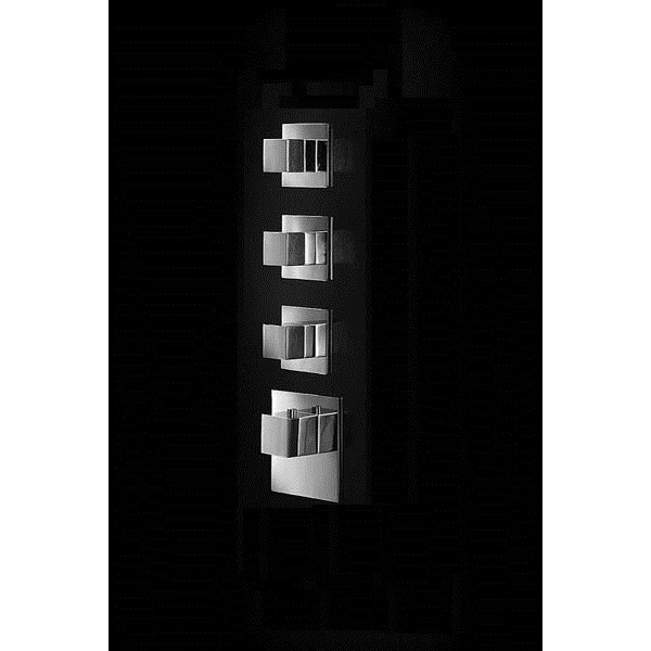 Baterie kryt SQUARE S, 3 funkce