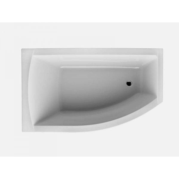 FIONA asymetrická vana 150x85 cm, levá