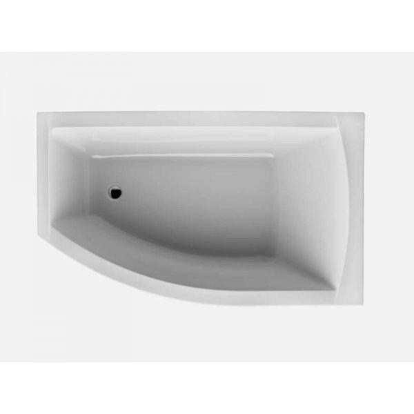 FIONA asymetrická vana 150x85 cm, pravá