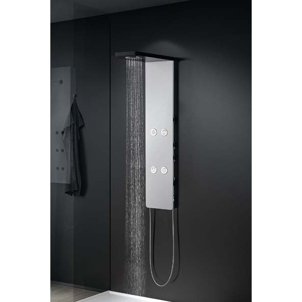 NEFELE sprchový panel s pákovou baterií