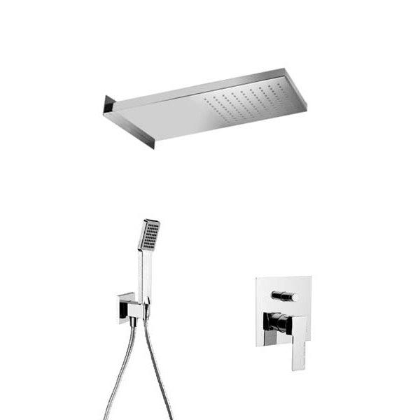 Sprchový set QUADRO UNO 50x22 cm