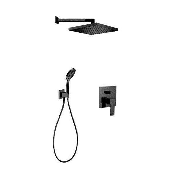 Sprchový set QUADRO BLACK
