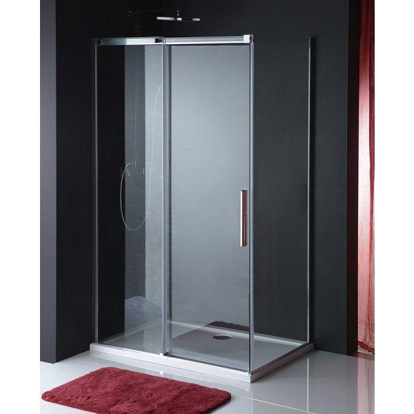 Obdélníková zástěna ALTIS LINE 140x100 cm (dveře + boční stěna)