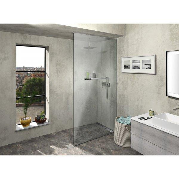 Sprchová zástěna ARCHITEX LINE podlaha-stěna-strop, šířka 100-119 x výška 180-260 cm, sklo čiré