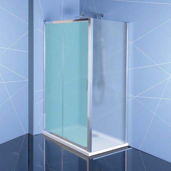 Boční stěna EASY LINE 90 cm, sklo BRICK