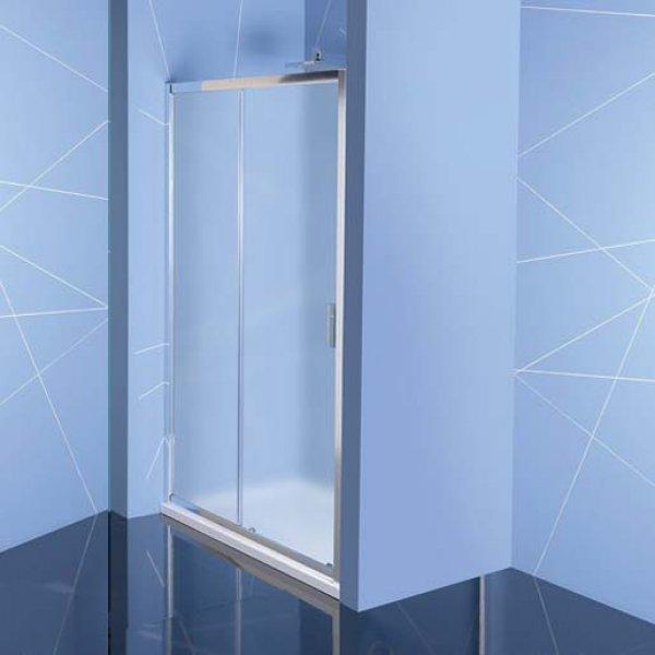 Posuvné dveře do niky EASY LINE 110 cm (2-dílné), sklo BRICK