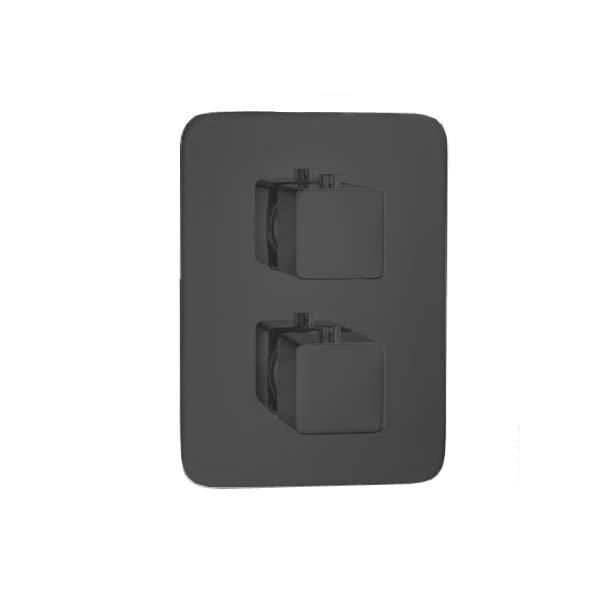 INFINITY T BLACK baterie termostatická, 3 funkce