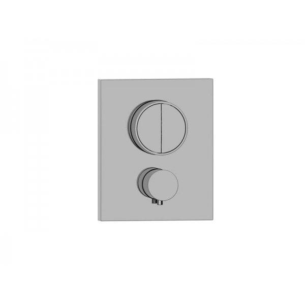 BATERIE PUSH tlačítková termostatická, 2 funkce