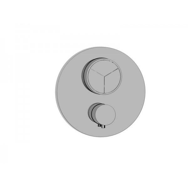 BATERIE PUSH tlačítková termostatická, 3 funkce