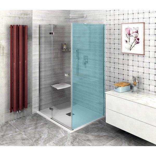 Sprchové dveře FORTIS LINE 140 cm, čiré sklo, levé
