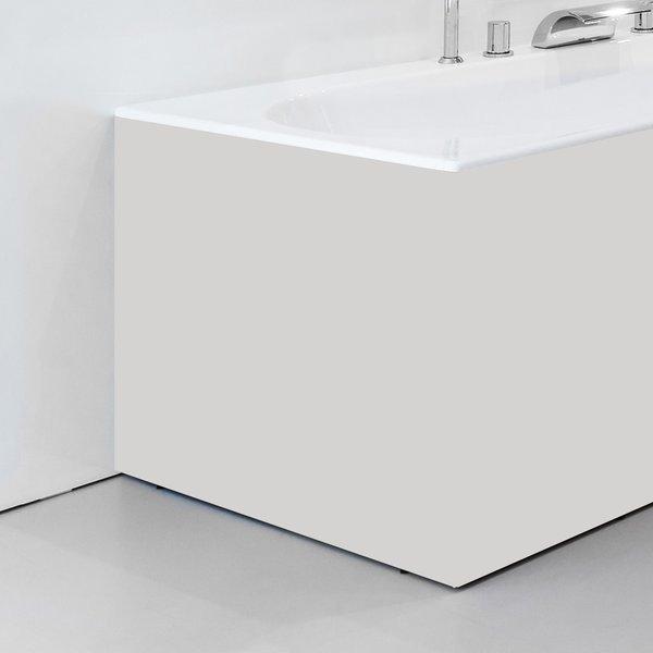 Panel boční 80 L bílý