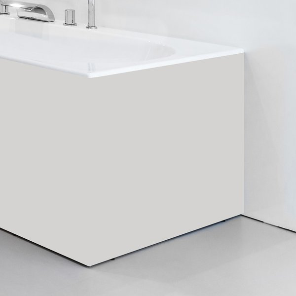 Panel boční 80 R bílý