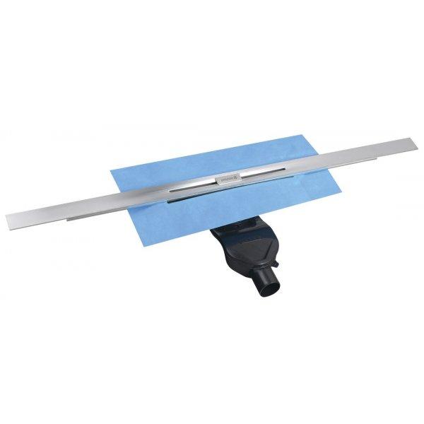 SLIM RIVER nerezový sprchový kanálek s roštem, 400-1000 mm