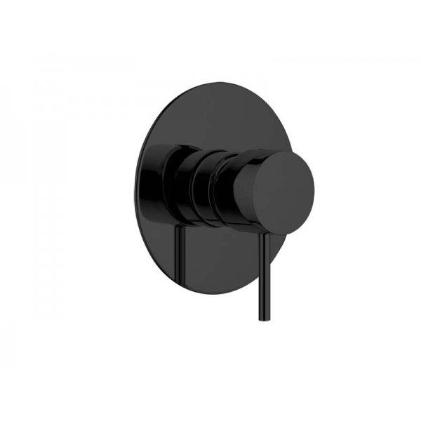 Baterie RONDO-X BLACK podomítková páková, 1 funkce